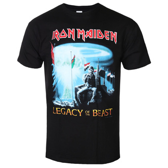 t-shirt metal men's Iron Maiden - Two Minutes To Midnight - ROCK OFF - IMTEE95MB