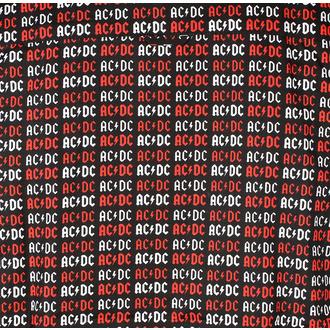 Men's shirt AC / DC - Logo - ROCK OFF - ACDCSHIRT01MB
