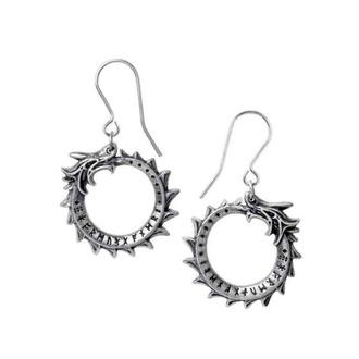 Earrings ALCHEMY GOTHIC - Jormungand - Pewter - E440
