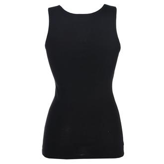 Women's tank top BLACK HEART - WOODOO DOLL - BLACK - 011-0061-BLK