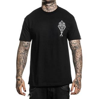 t-shirt hardcore men's - BLAQ WOLF - SULLEN - SCM2853_BK