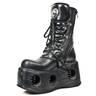 leather boots women's - 373 ITALI NOMADA NEGRO NEW SPACE - NEW ROCK, NEW ROCK