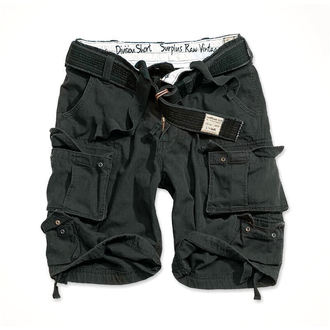 shorts SURPLUS - DIVISION SHORT - BLACK - 07-5598-63