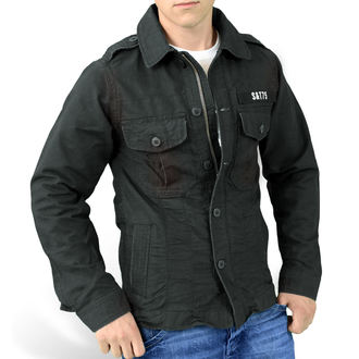 jacket men SURPLUS - HERITAGE VINTAGE - BLACK - 20-3587-63