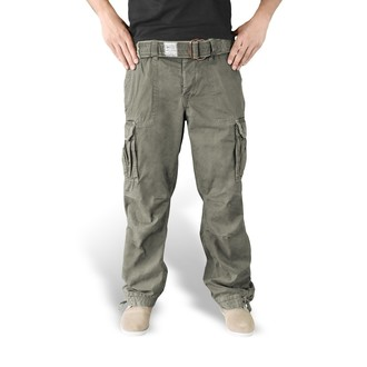pants men SURPLUS - PREMIUM VINTAGE TR. - OLIV - 05-3597-61