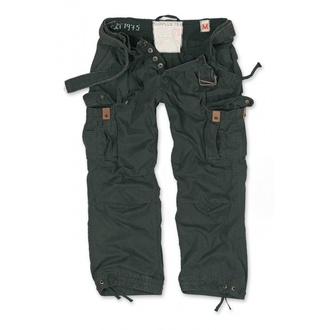 pants men SURPLUS - PREMIUM VINTAGE TR. - BLACK, SURPLUS