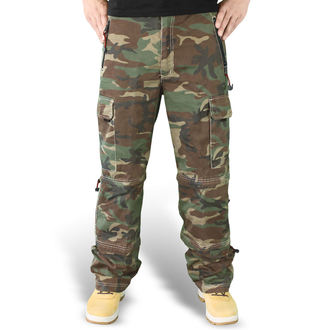 pants SURPLUS - Trekking Trouser - WOODLAND, SURPLUS
