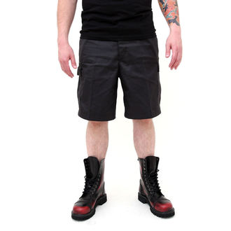 shorts men SURPLUS - COMBAT SHORT - BLACK, SURPLUS