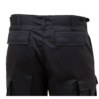 shorts men SURPLUS - COMBAT SHORT - BLACK - 05-5581-03