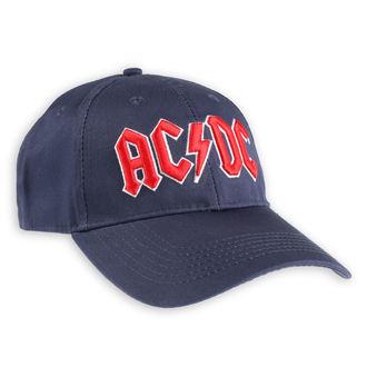 cap AC / DC - Red Logo Navy - ROCK OFF, ROCK OFF, AC-DC