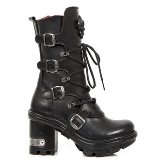leather boots women's - ITALI NEGRO NEOTYRE - NEW ROCK, NEW ROCK