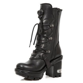 leather boots women's - ITALI NEGRO NEOTYRE - NEW ROCK, NEW ROCK