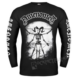 t-shirt hardcore men's - SKELETON DA VINCI - AMENOMEN, AMENOMEN