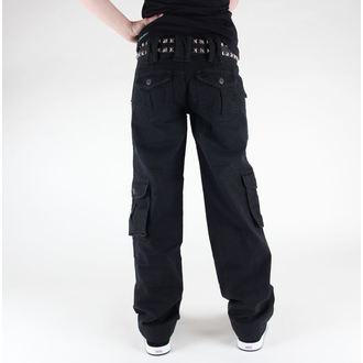 pants women SURPLUS - LADIES Trouser - 33-3587-63 - BLACK