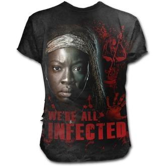 film t-shirt men's The Walking Dead - MICHONNE - SPIRAL, SPIRAL