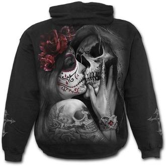hoodie men's - DEAD KISS - SPIRAL - D076M451