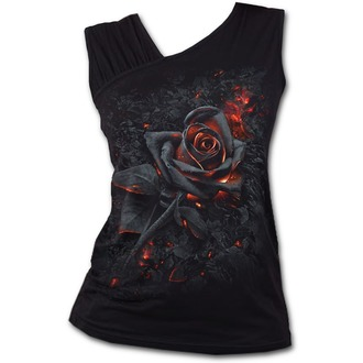 Top Women's SPIRAL - BURNT ROSE - Black, SPIRAL