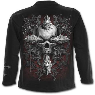 t-shirt men's - CROSS OF DARKNESS - SPIRAL - D077M301