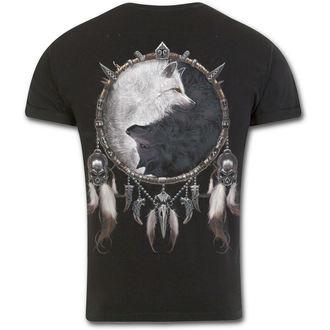 t-shirt men's - WOLF CHI - SPIRAL - T118M135