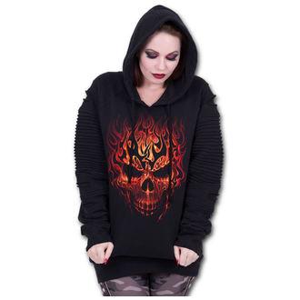 hoodie women's - SKULL BLAST - SPIRAL, SPIRAL