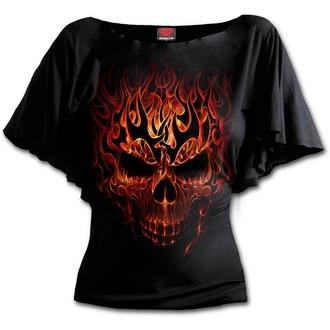 T-Shirt women's - SKULL BLAST - SPIRAL - T152F719