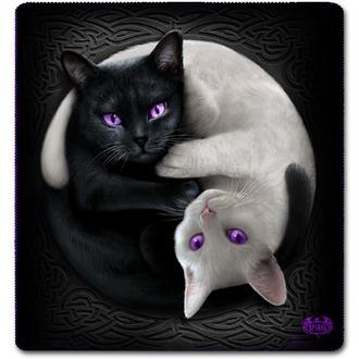 Blanket SPIRAL - YIN YANG CATS, SPIRAL