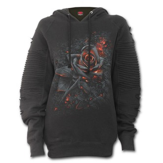 hoodie women's - BURNT ROSE - SPIRAL, SPIRAL