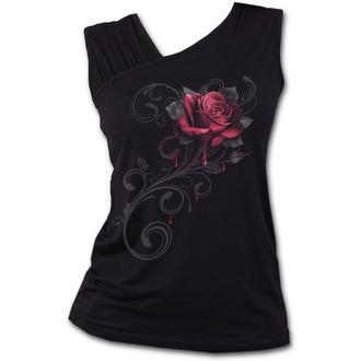 Top Women's SPIRAL - ROSE SLANT - Black, SPIRAL
