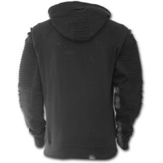 hoodie men's - GOTHIC ROCK - SPIRAL