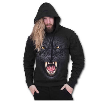 hoodie men's - TRIBAL PANTHER - SPIRAL, SPIRAL