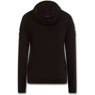 hoodie women's - WOLF ROSES - SPIRAL, SPIRAL