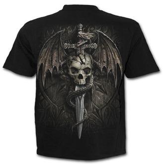 t-shirt men's - DRACO SKULL - SPIRAL, SPIRAL