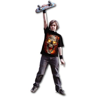 T-Shirt men's - SKULL BLAST - SPIRAL - T152K101