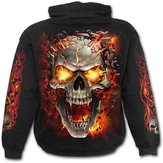 hoodie men's - SKULL BLAST - SPIRAL, SPIRAL