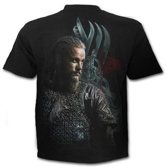 film t-shirt men's Vikingové - RAGNAR FACE - SPIRAL, SPIRAL