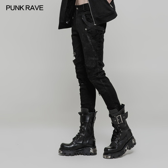 Men's pants men PUNK RAVE - Nazgul, PUNK RAVE