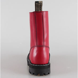 leather boots women's - STEEL - (105/106 Full Red)