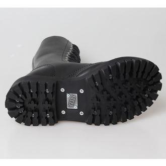 leather boots women's - STEEL - 135/136 Black