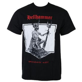 t-shirt metal men's Hellhammer - RED LOGO APOCALYPTIC RAIDS - Just Say Rock, Just Say Rock, Hellhammer
