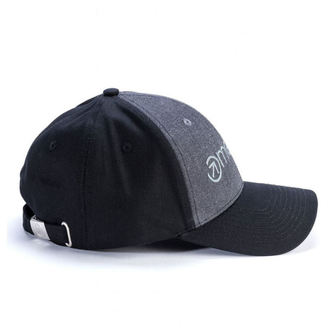 Cap MEATFLY - COACH CURVE PEAK C - DARK HEATHER / BLACK, MEATFLY