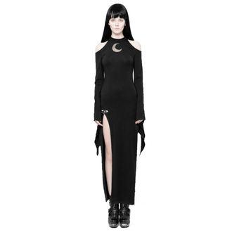 Women's dress PUNK RAVE - Lunaria long Gothic, PUNK RAVE