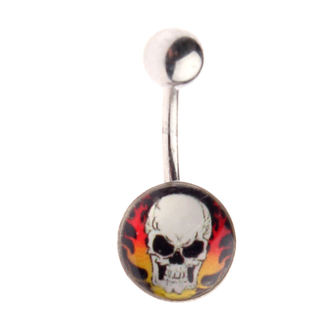 piercing jewel Skull - 1PCS - L 064 - MABR