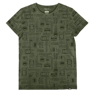 film t-shirt men's Batman - OLIVE -