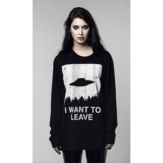 t-shirt hardcore unisex - I WANT TO LEAVE - DISTURBIA, DISTURBIA