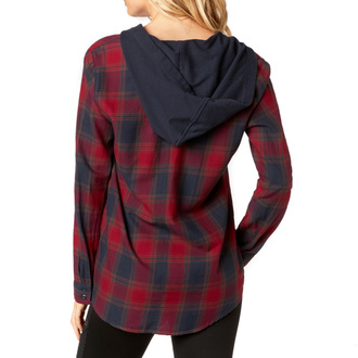 Shirt Women's FOX - Deny - Dark Red, FOX
