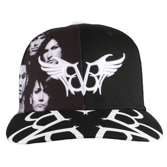 Cap BLACK VEIL BRIDES - BAND - PLASTIC HEAD, PLASTIC HEAD, Black Veil Brides
