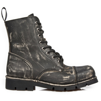 leather boots women's - VINTAGE RASPADO PLANING SIN COMFORT - NEW ROCK, NEW ROCK