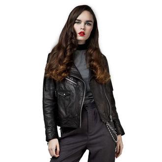 leather jacket unisex - Deadbeat - DISTURBIA, DISTURBIA