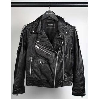 leather jacket unisex - Deadbeat - DISTURBIA