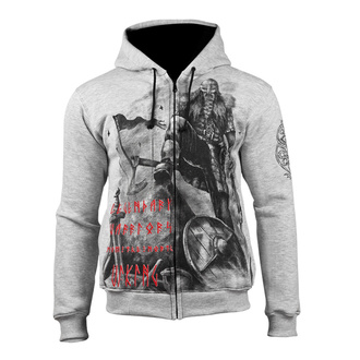 hoodie men's - Viking Legendary Warrior - ALISTAR